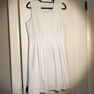 Calvin Klein white sleeveless sundress